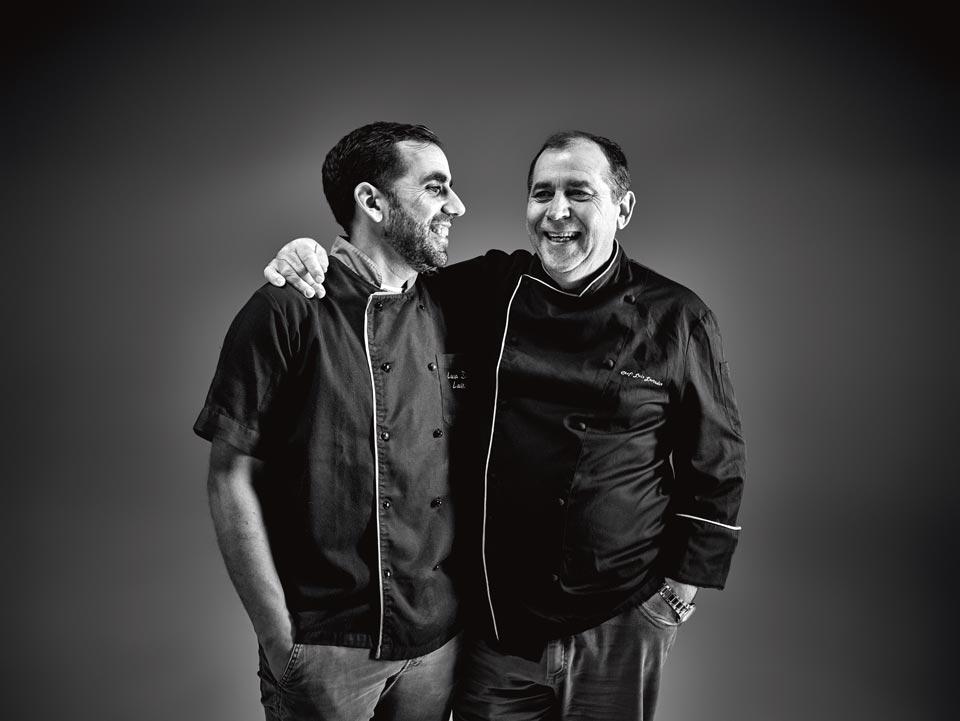Chef Luís Lavrador e Luís Daniel Lavrador